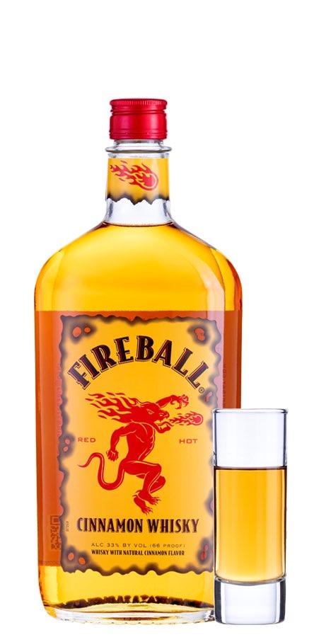ファイヤーボール ウイスキー